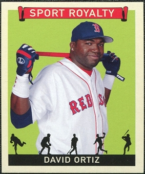 2007 Upper Deck Goudey Sport Royalty #DO David Ortiz