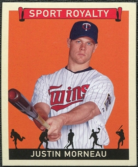 2007 Upper Deck Goudey Sport Royalty #JM Justin Morneau