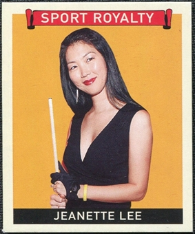 2007 Upper Deck Goudey Sport Royalty #LE Jeanette Lee