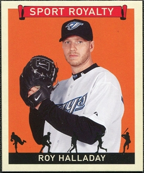 2007 Upper Deck Goudey Sport Royalty #RH Roy Halladay