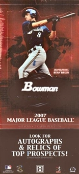 2007 Bowman Sterling Baseball Hobby Box