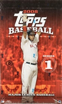 2008 Topps Series 1 Baseball Hobby Box