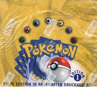 Pokemon Base 1 German Booster Box - 1st Edition