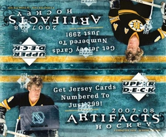 2007/08 Upper Deck Artifacts Hockey 24-Pack Box