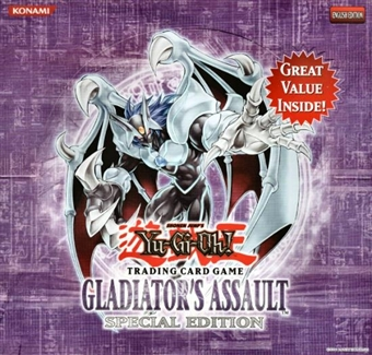 Upper Deck Yu-Gi-Oh Gladiator's Assault Special Edition Box