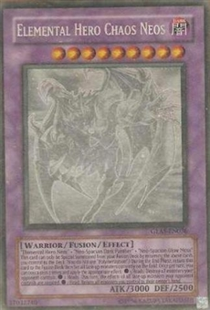 Yu-Gi-Oh Gladiator's Assault Single Elemental Hero Chaos Neos Ghost Rare