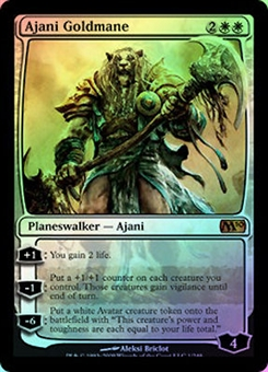 Magic the Gathering 2010 Single Ajani Goldmane FOIL