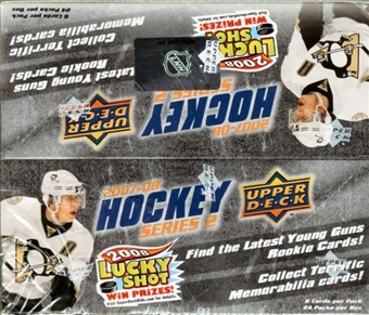 2007/08 Upper Deck Series 2 Hockey 24-Pack Box