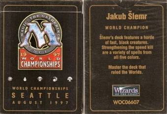 Magic the Gathering World Championship Jakub Slemr Deck (1997)