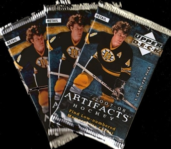2007/08 Upper Deck Artifacts Hockey Retail Pack