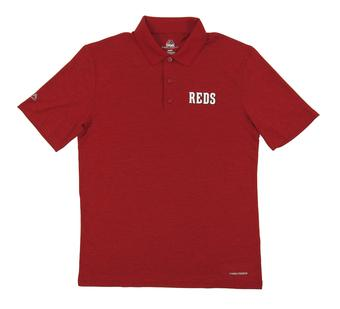 Cincinnati Reds Majestic Endless Flow Red Performance Polo (Adult XX-Large)