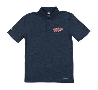 Minnesota Twins Majestic Endless Flow Navy Performance Polo (Adult Large)