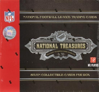 2007 Playoff National Treasures Football Hobby Box