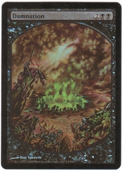 Magic the Gathering Promo Single Damnation Foil (Textless)
