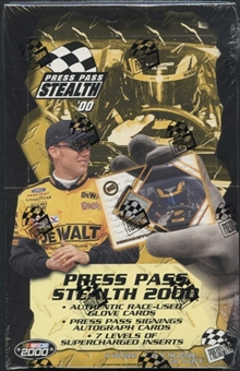 2000 Press Pass Stealth Racing Hobby Box
