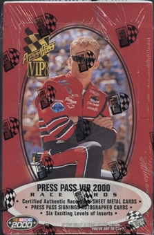 2000 Press Pass VIP Racing Hobby Box