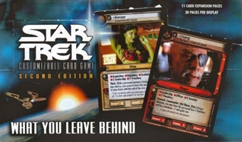 Decipher Star Trek What You Leave Behind Booster Box