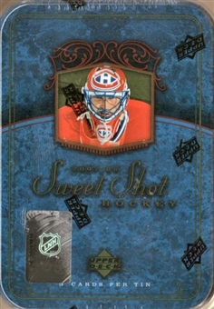 2007/08 Upper Deck Sweet Shot Hockey Hobby Box (Tin)