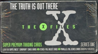 X-Files Series 1 24 Pack Box (1995 Topps)