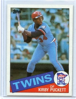 1985 Topps Baseball #536 Kirby Puckett Rookie Card (NM or Better)