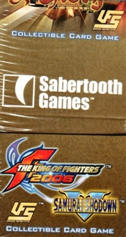Universal Fighting System (UFS) SNK Fortune & Glory Booster Box
