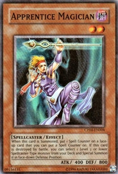 Yu-Gi-Oh Champion Pack 4 Single Apprentice Magician Super Rare