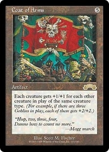 Magic the Gathering Exodus Single Coat of Arms - NEAR MINT (NM)