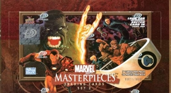 Marvel Masterpieces Series 2 Hobby Box (2008 Upper Deck)