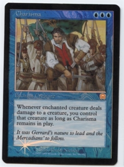 Magic the Gathering Mercadian Masques Single Charisma FOIL