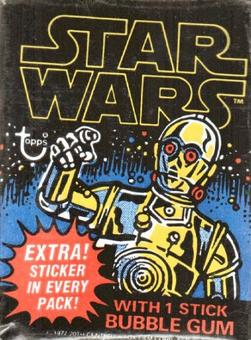 Star Wars 1st Series Wax Pack (1977 Topps)