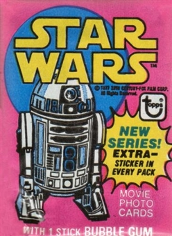Star Wars 3rd Series Wax Pack (1977-78 Topps)