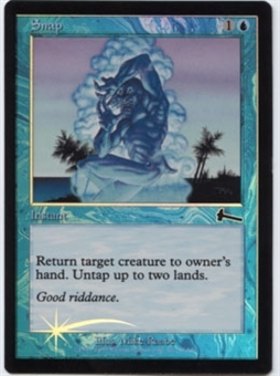 Magic the Gathering Urza's Legacy Single Snap Foil