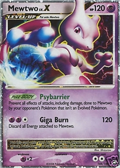Pokemon Legends Awakened Single Mewtwo 144/146