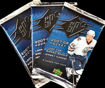 2007/08 Upper Deck SPx Hockey Hobby Pack