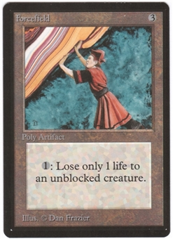 Magic the Gathering Beta Single Forcefield UNPLAYED (NM/MT)