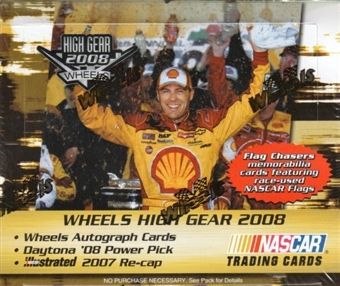 2008 Press Pass Wheels High Gear Racing Hobby Box