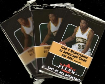2007/08 Fleer Basketball Hobby Pack