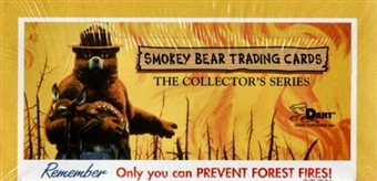 Smokey Bear Hobby Box (1996 Dart Flipcards)