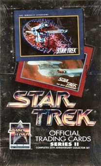 Star Trek 25th Anniversary Series 2 Hobby Box (1991 Impel)