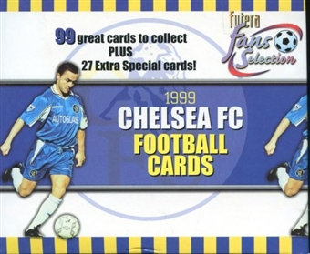 1999 Trade Cards Chelsea Soccer Hobby Box