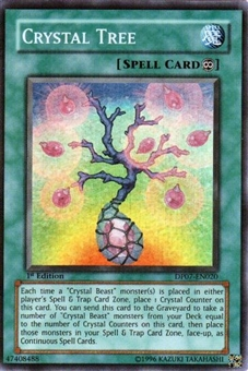 Yu-Gi-Oh Jesse Anderson Single Crystal Tree Super Rare