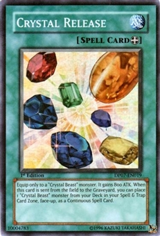 Yu-Gi-Oh Jesse Anderson Single Crystal Release Super Rare