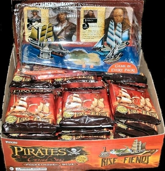 WizKids Pirates of the Cursed Seas Rise of the Fiends Booster Box