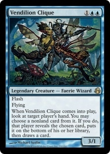 Magic the Gathering Morningtide Single Vendilion Clique - SLIGHT PLAY (SP)