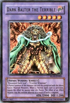 Yu-Gi-Oh Hobby League 3 Single Dark Balter The Terrible Parrel Foil