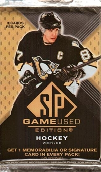 2007/08 Upper Deck SP Game Used Hockey Hobby Pack