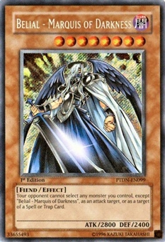 Yu-Gi-Oh Phantom Darkness Single Belial - Marquis of Darkness Secret Rare