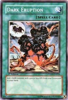 Yu-Gi-Oh Phantom Darkness Single Dark Eruption Super Rare