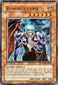 Yu-Gi-Oh Phantom Darkness Single Vampire Curse Ultra Rare