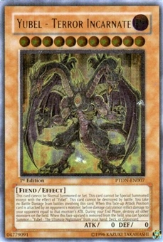 Yu-Gi-Oh Phantom Darkness Single Yubel - Terror Incarnate Ultimate Rare